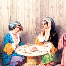 Turkish Bath in Old Times
